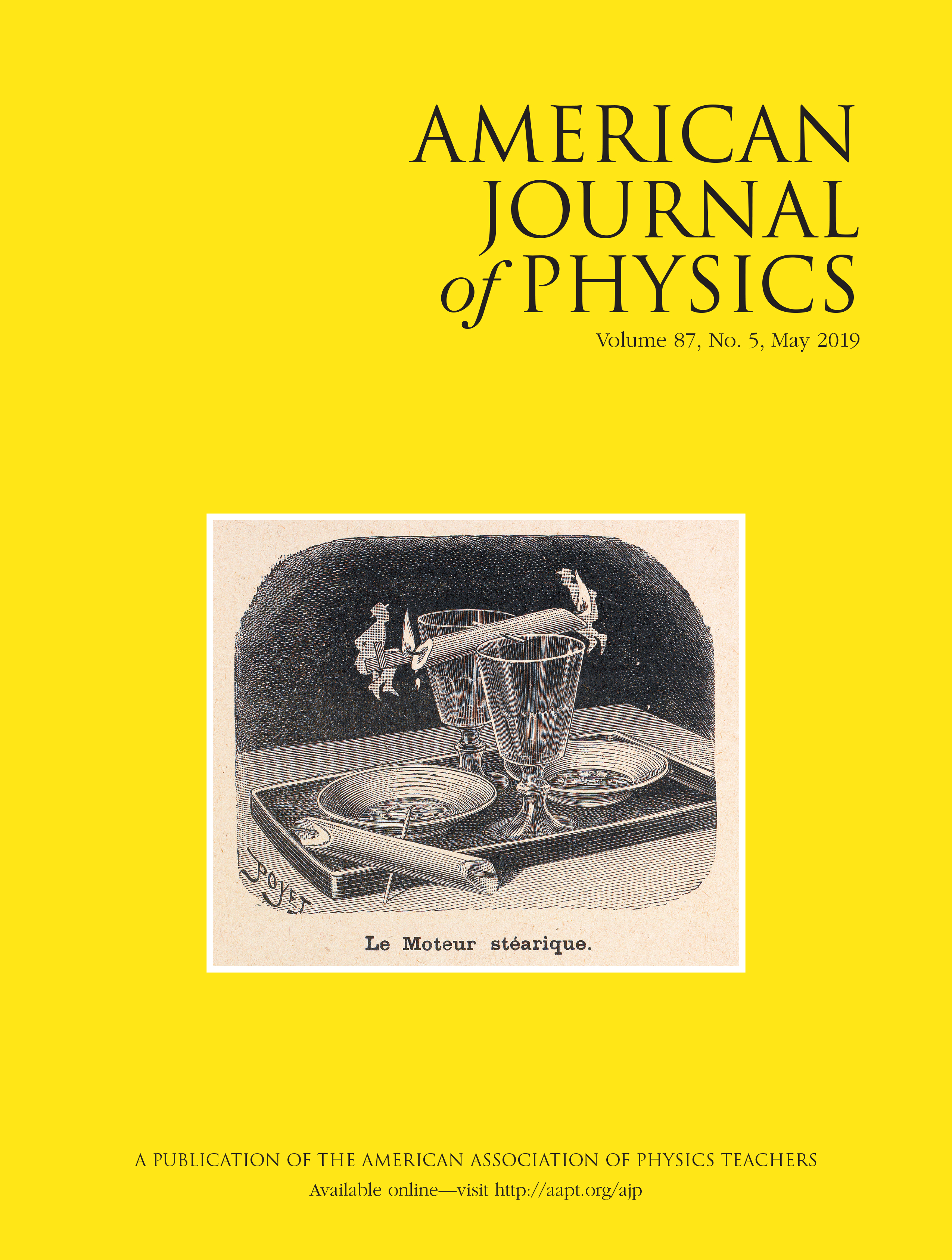 AJP Reviewers: American Journal of Physics: Vol 87, No 5